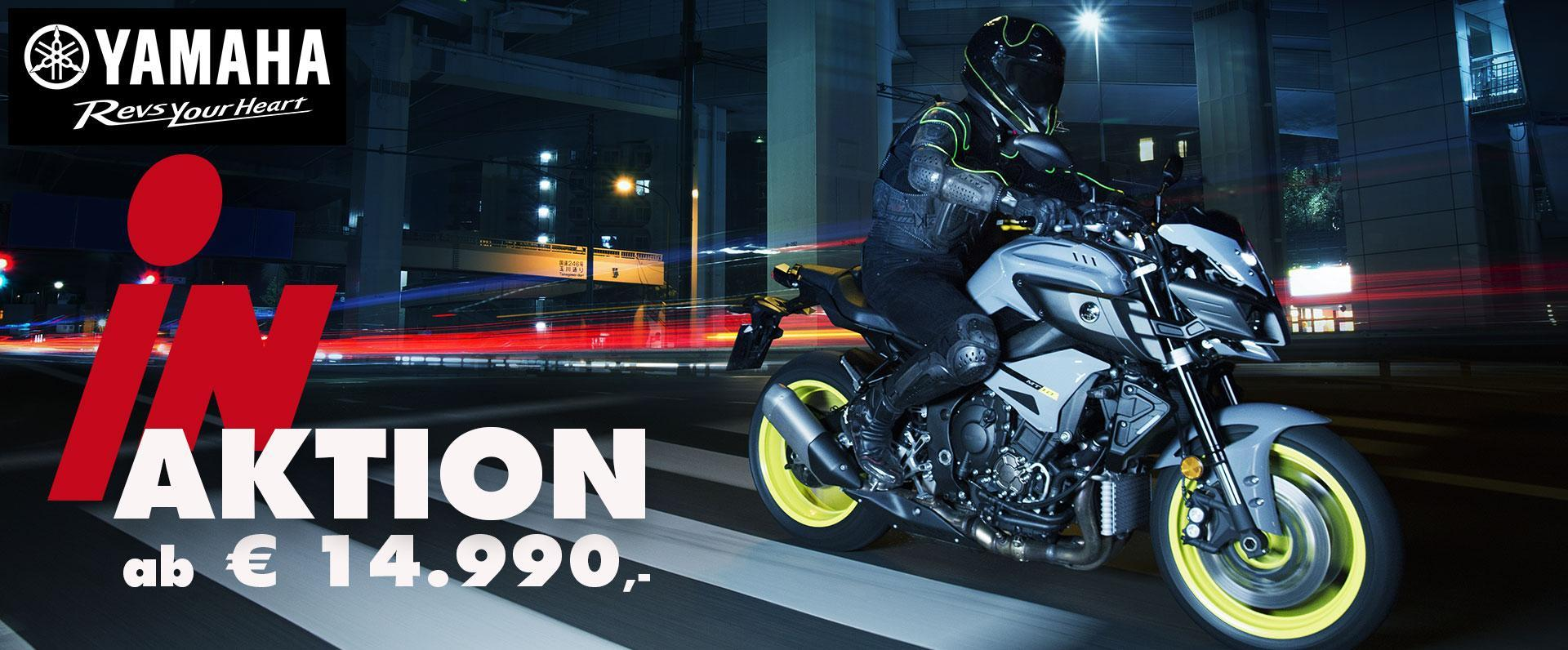 Zweirad Ginzinger Yamaha Aktion jetzt bei uns ab 14.990,--
