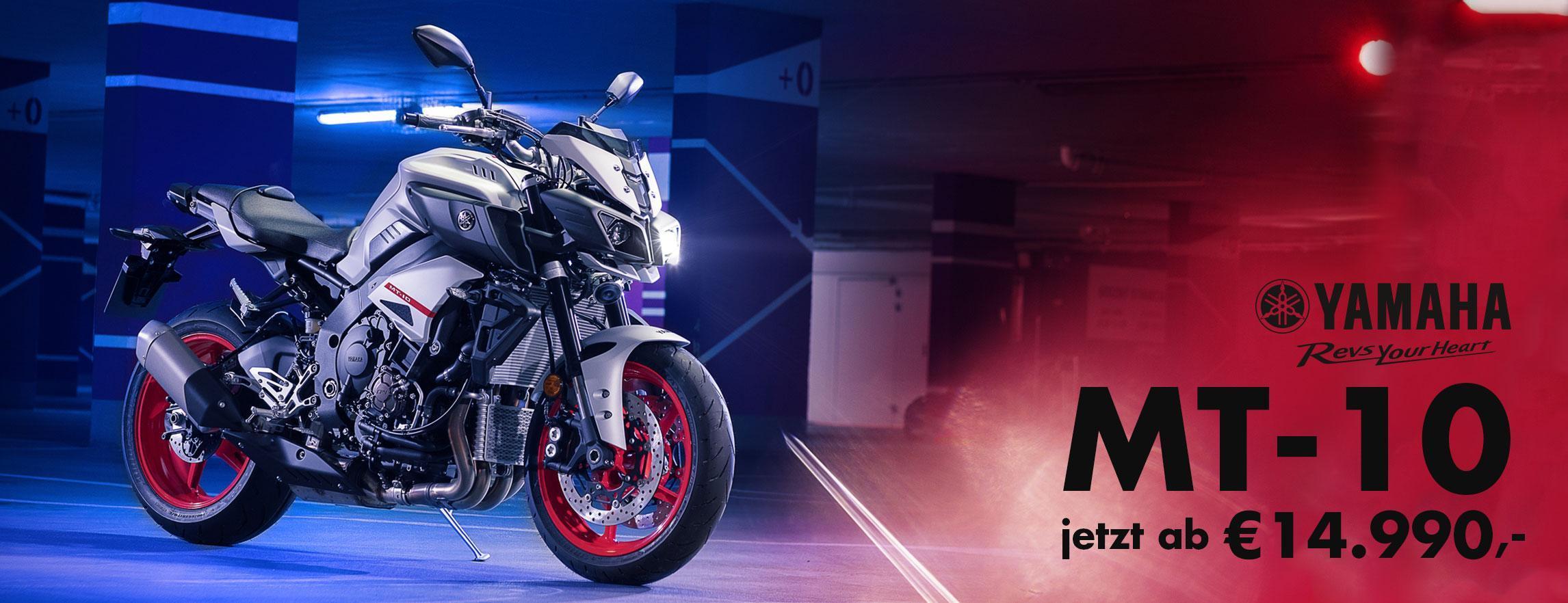 Yamaha MT-10 Aktion SP und Tourer