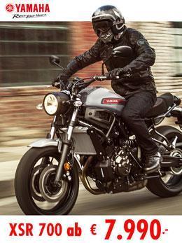 XSR 700/900 Modelle bei Zweirad Ginzinger