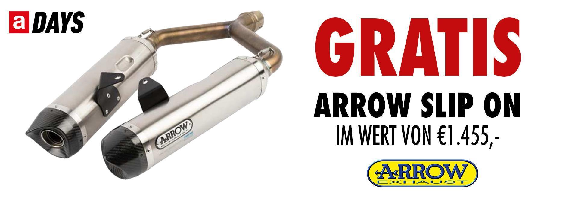 Dorsoduro 900 inkl. Arrow Slip on im Wert von € 1.455.-