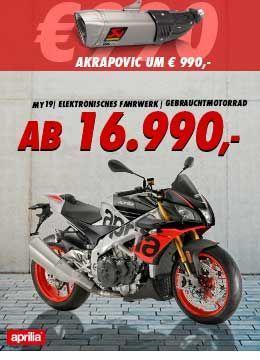 Aprilia Tuono Factory ab € 16.990,-