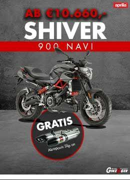 Shiver Navi gratis Akrapovic