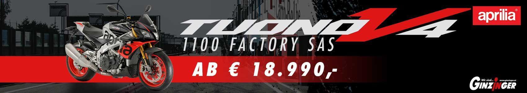 Tuono V4 Factory SAS ab € 18.990,-