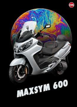 SYM MaxSym 600