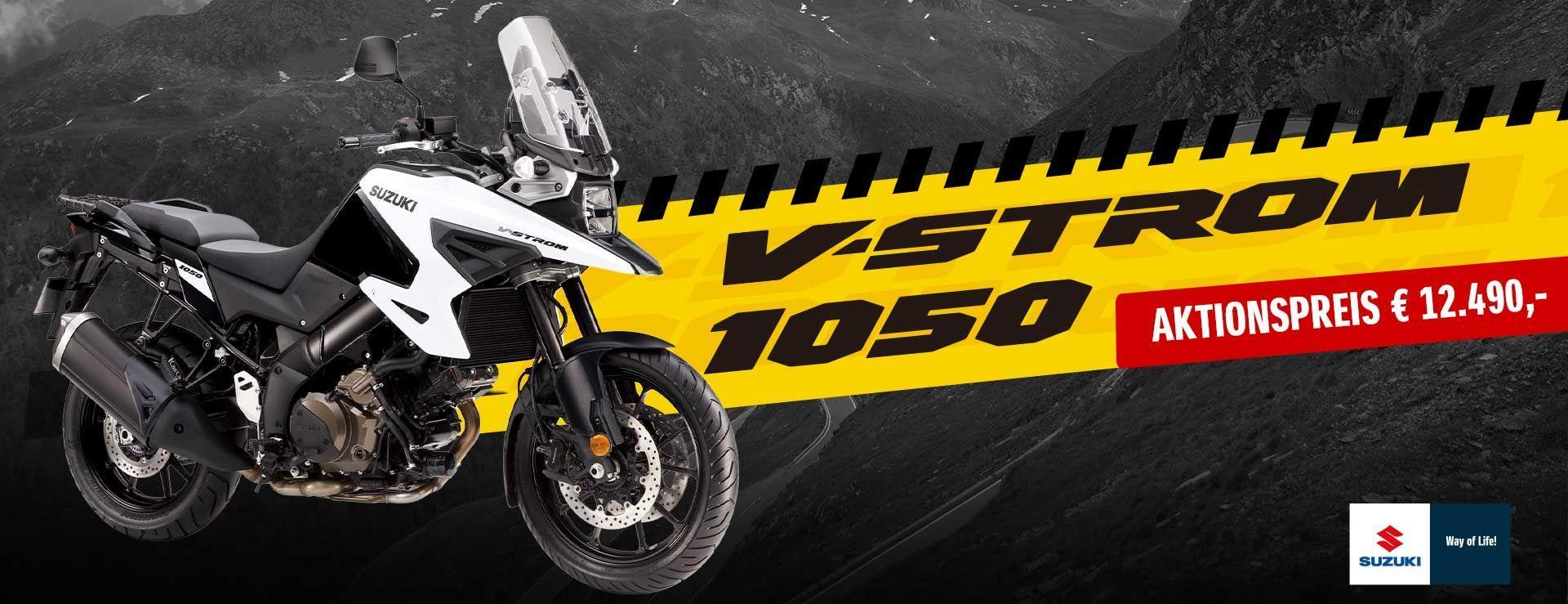 Suzuki V-Strom 1050 ab €11.990,-