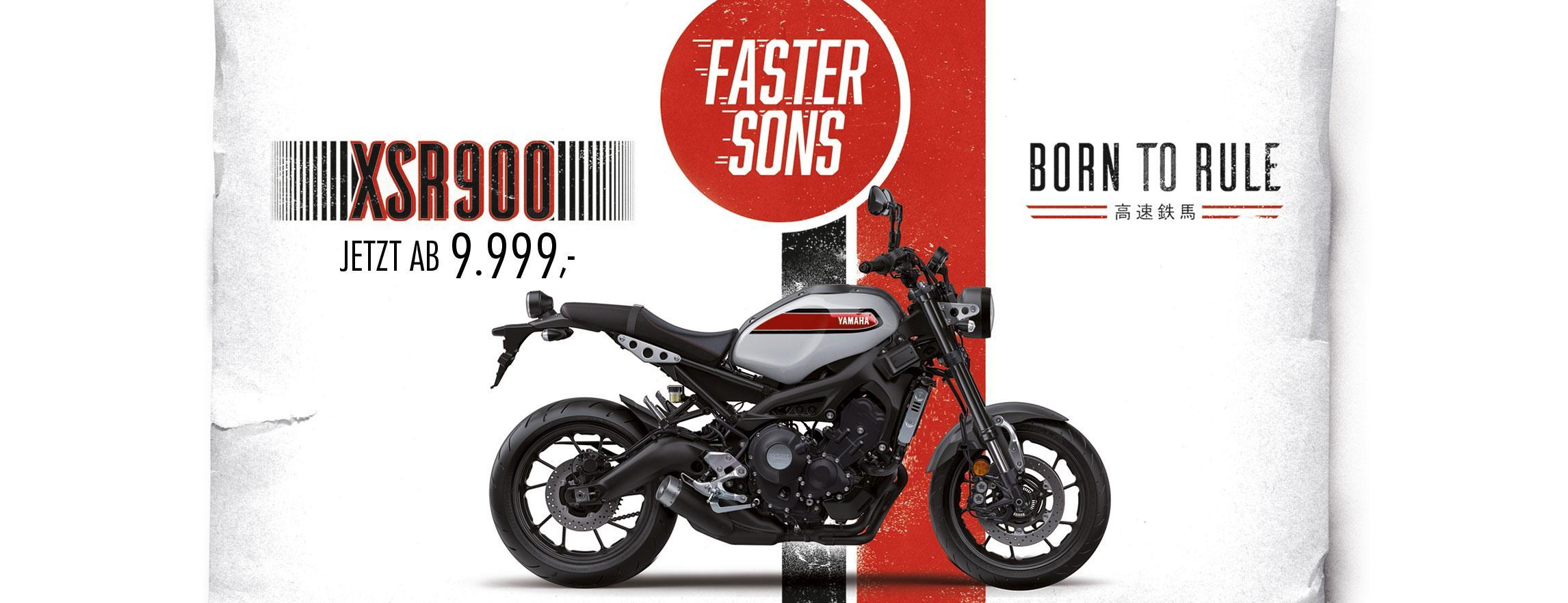 Yamaha XSR 900 Aktion Retro Naked Bike