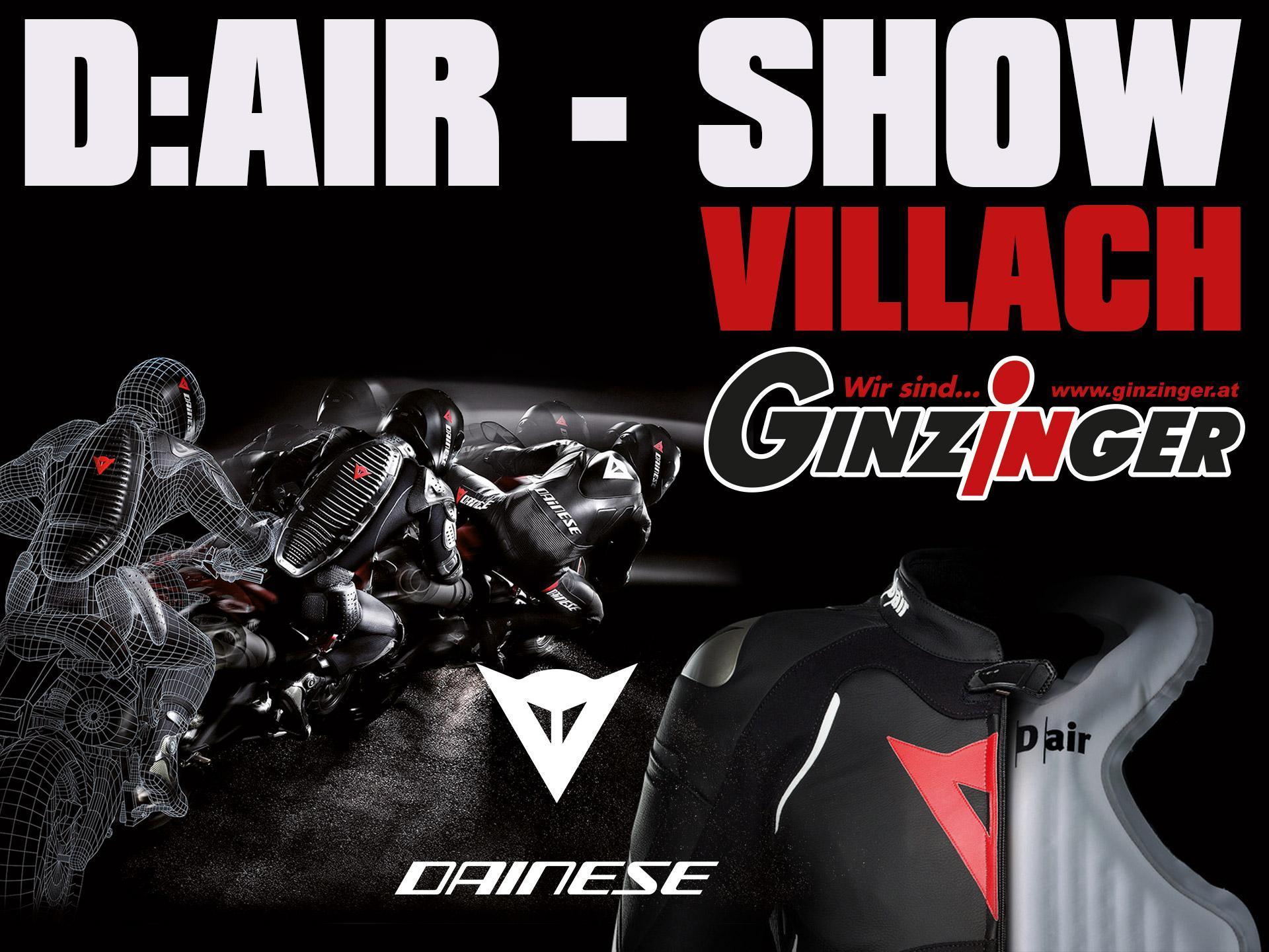Dainese D:AIR Event bei Ginzinger Villach