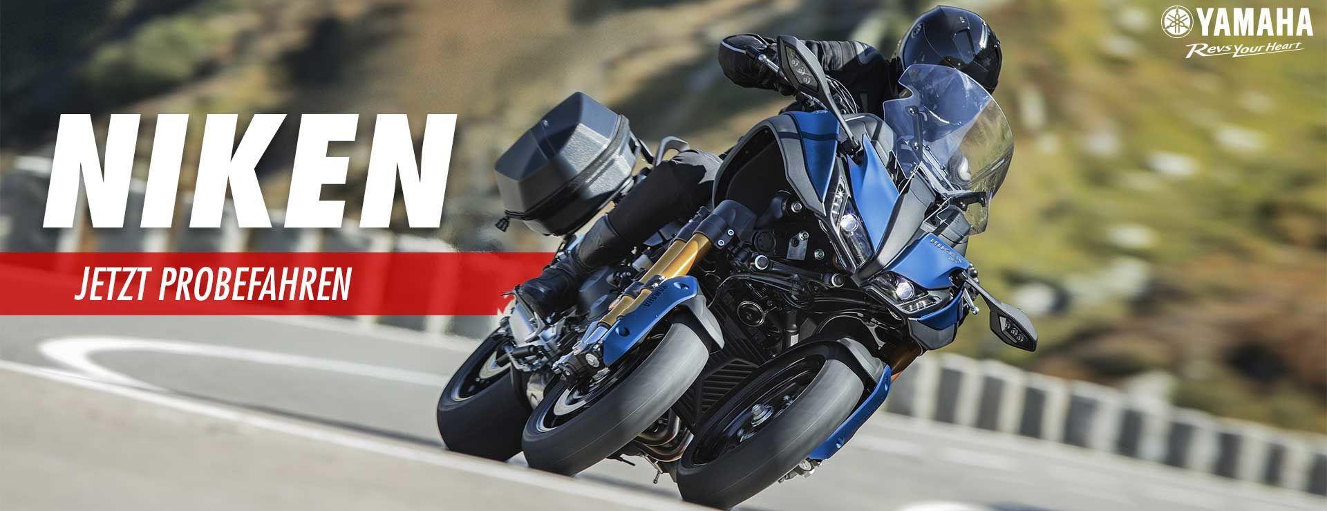 Yamaha Niken Probefahren